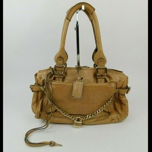 Chloé Paddington Capsule Purse Tan Leather CHARITY